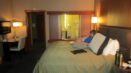 Salish Lodge & Spa: Our room