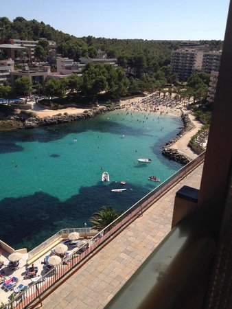 SENTIDO Cala Viñas: Are view beautiful from room