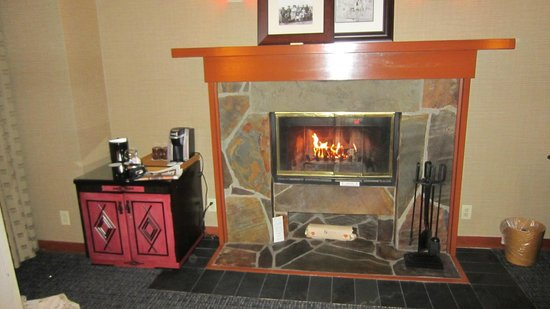 Salish Lodge & Spa : Fireplace