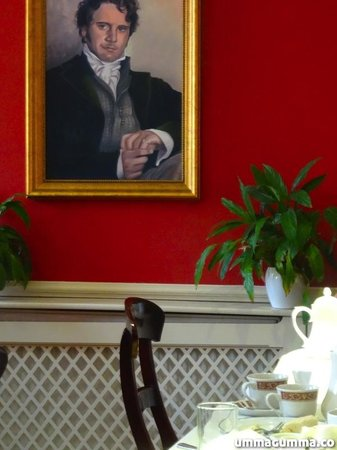 The Jane Austen Centre : Tea Room.