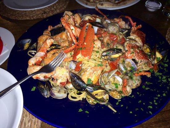Ciao Bella Roma: Best spaghetti frutti di mare