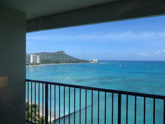 Sheraton Waikiki: ラナイからダイアモンドヘッド