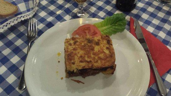 Manolis Taverna : La Musakka