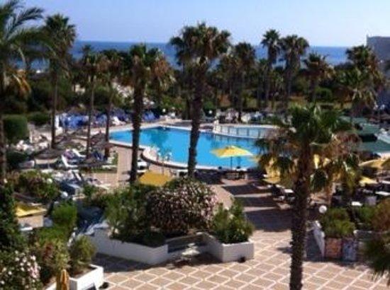 Hotel Club Tropicana & Spa: vue decla chambre