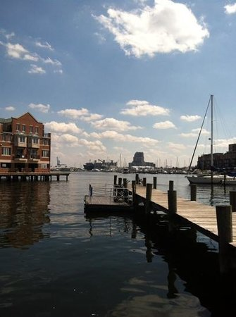 Baltimore Water Taxi: view from Captain James Crabhouse