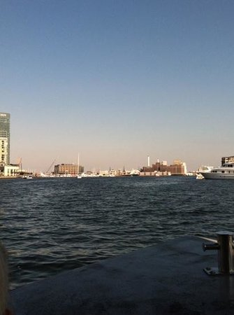 Baltimore Water Taxi: nice view