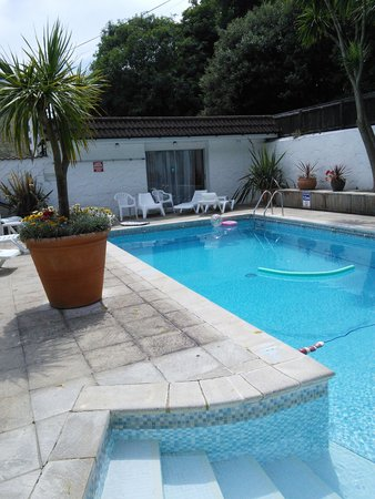 The Havelock: The heated pool