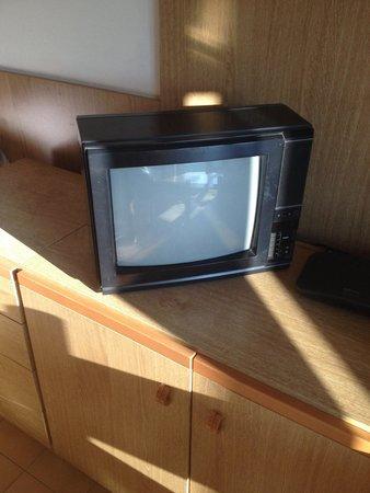 Residence Valbella: Credo sia l'unica televisione del genere ancora in circolazione