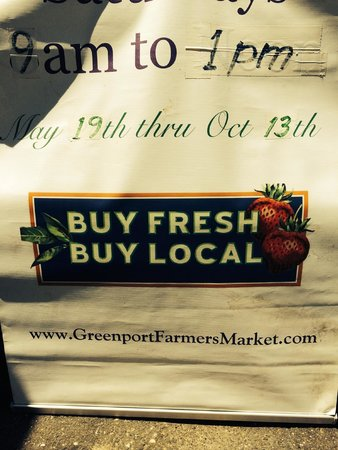 """Greenport Farmers' Market, Inc.: You got it! """"Buy Fresh. Buy Local"""" every May through October"""