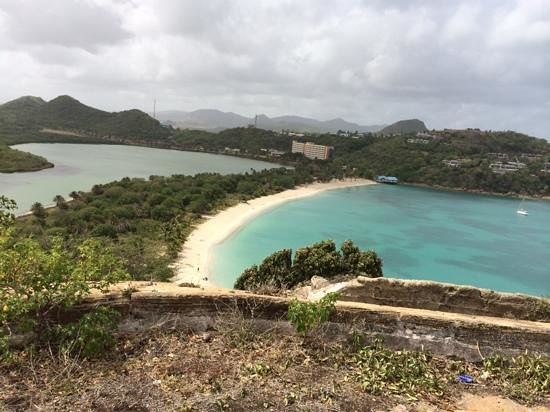 Coconut Beach Club: View from fort barrington