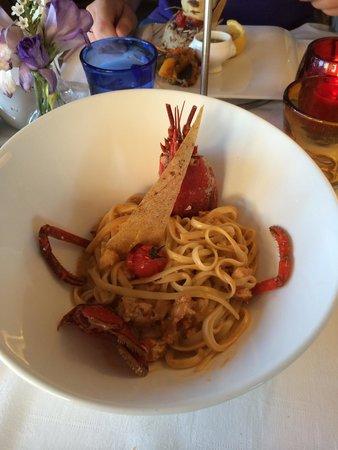 La Table du Mareyeur: Lobster tagliatelle