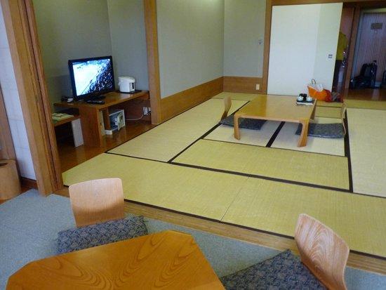 Hakone Yunohana Prince Hotel: Só tatame