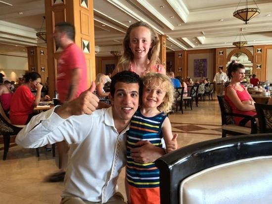 Le Royal Holiday Resort: mohammed with my children