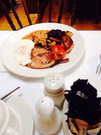 The Barley Field : Breakfast full Irish