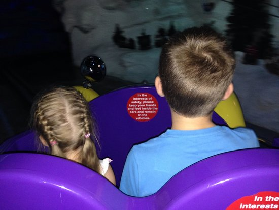 Cadbury World: Cadabra ride