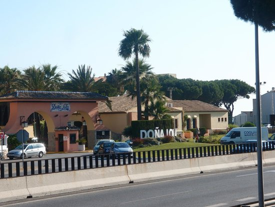 The Doña Lola Club: Entrance to complex