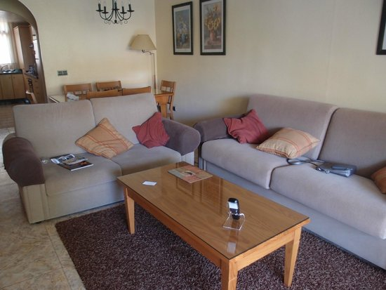 The Doña Lola Club: Living area of apartment