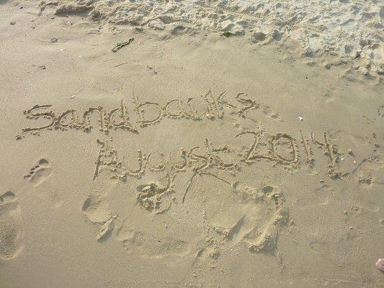 Sandbanks: Nice sand