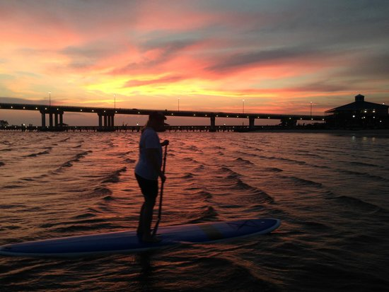 Paddles Up: Beautiful evening on the water!