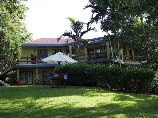 The Lodge at Chaa Creek: Spa villa is above the spa, 2nd floor.