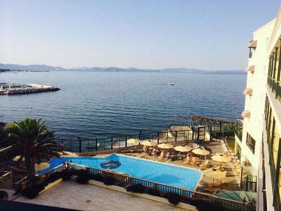 Aquamarina Hotel: View