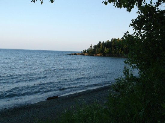 Burlington Bay Campground: Day view from my picnic table South side