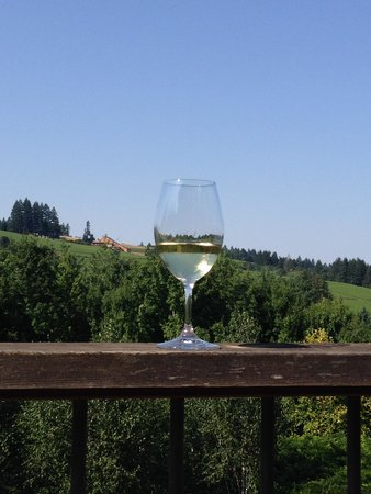 Red Ridge Farms : wine w/ a view to vineyard hills