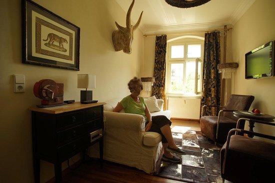 Ackselhaus: Afrika Room Living Room