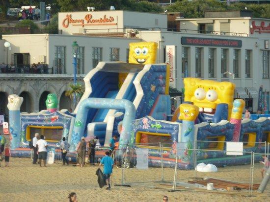 Bournemouth Pier: Bouncy Castle