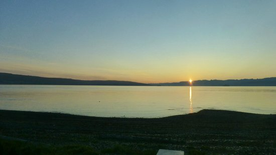 Heritage RV Park: Morning view from the campsite