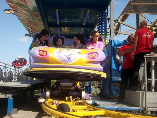 Southport Pleasureland: One of the rides