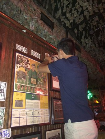 McGuire's Irish Pub: Putting our 1$$ bill up