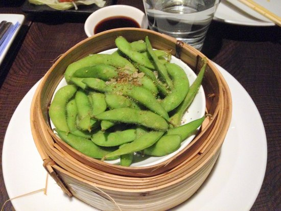 Ping Pong - Westbourne Grove: edamame
