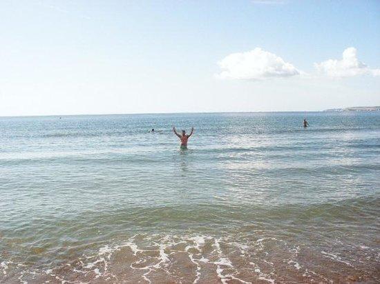 San Brelade: Early morning swim