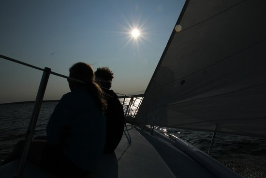 12 Meter Charters: On the bow