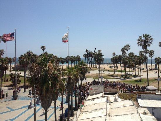 Samesun Venice Beach: View from our private room