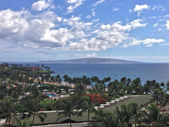 Grand Wailea - A Waldorf Astoria Resort: View from our room