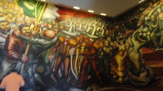 Chapultepec Castle: Mural