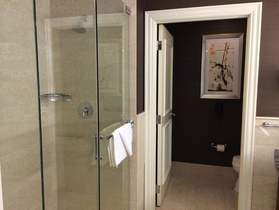 JW Marriott Chicago: Marble shower