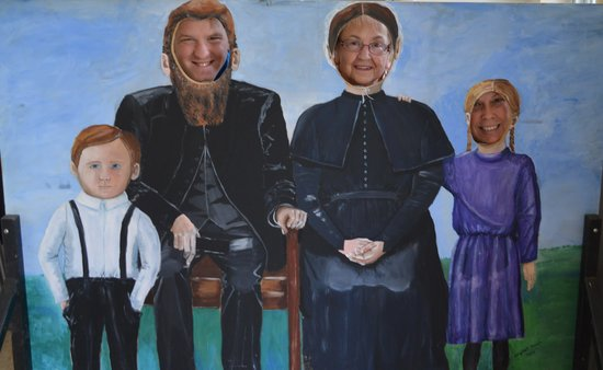 Valley Brethren-Mennonite Heritage Center: Having fun : )