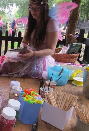Audley End Miniature Railway: Making Fairy Wands