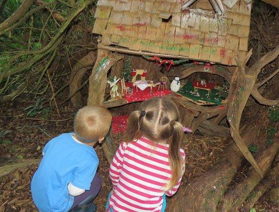 Audley End Miniature Railway: Christmas Fairy's House