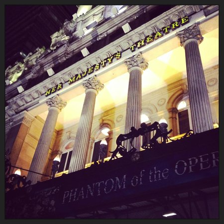 Phantom of The Opera London : O teatro é também um show!