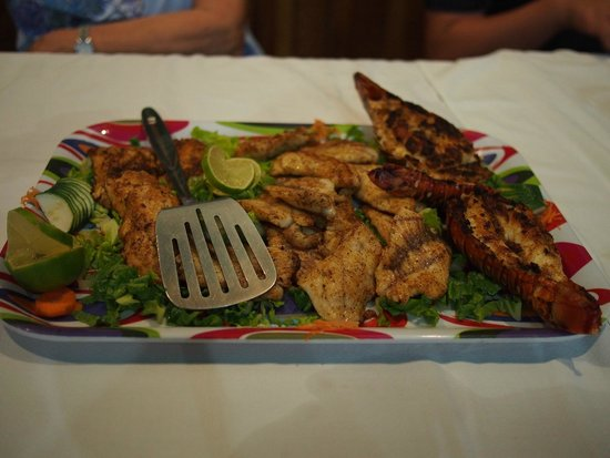 Tranquility Bay Resort: Our fresh catch!