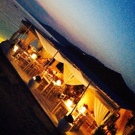 Anassa Restaurant Fourka beach: Anassa