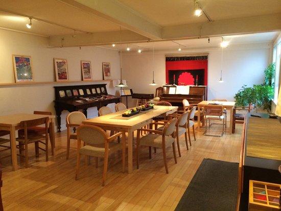 Old Granite Inn: Eating area