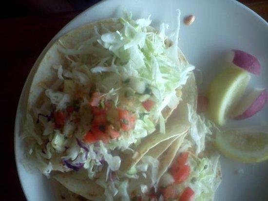 Ventana Grill: Halibut tacos