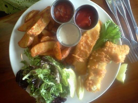 Ventana Grill: Fish and Chips