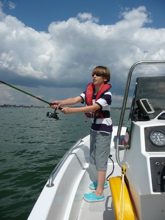 Poole Boat Hire: Perfect cast