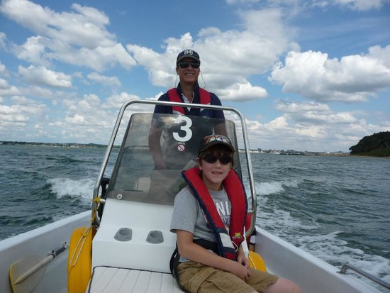 Poole Boat Hire: A day Fishing with the boys